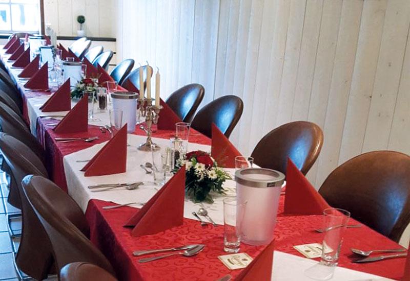 Die Gerüchteküche bietet genügend Platz für Ihre nächste Feier.